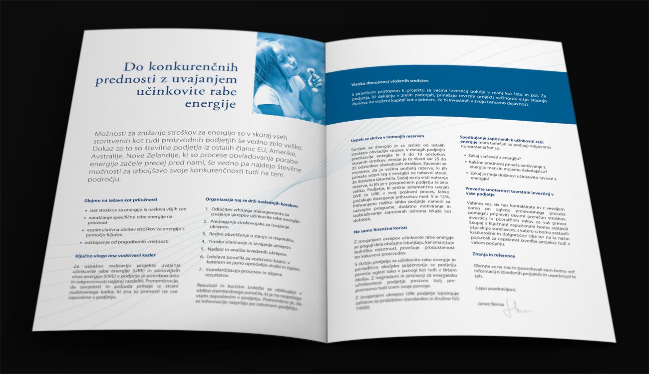 Genera Lynx Brochure Design