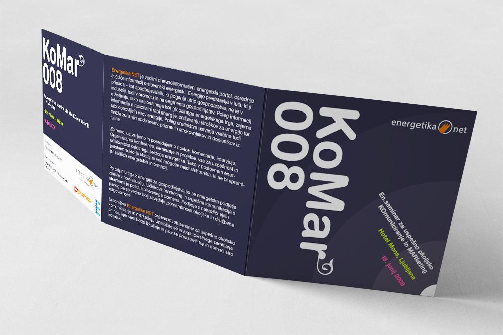KoMar 008 seminar brochure