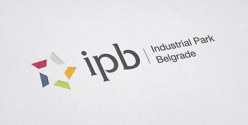 Industrial Park Belgrade Logotype Design