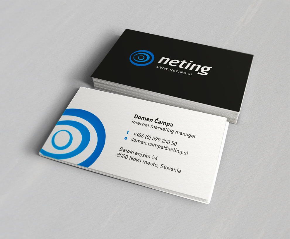 Neting Business Card