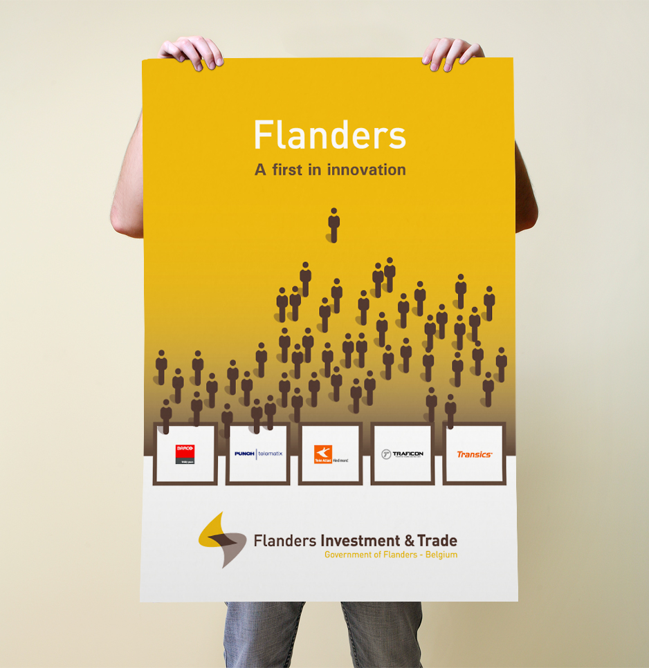 Flanders Investment & Trade poster