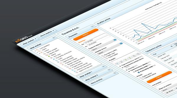 ProGrid Cloud Application UX Design