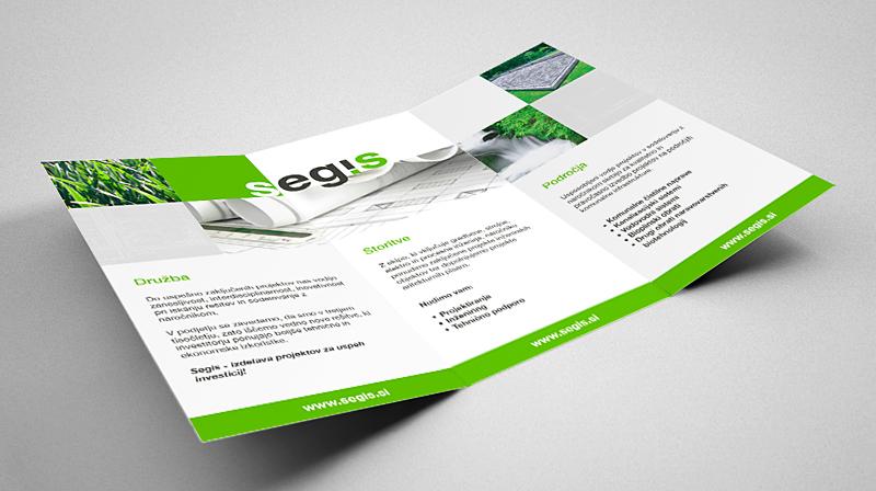 Segis Company Brochure Design