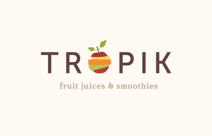 Tropik Fruit Logotype Design